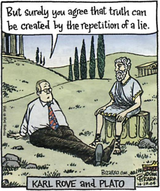If Karl Rove met Plato